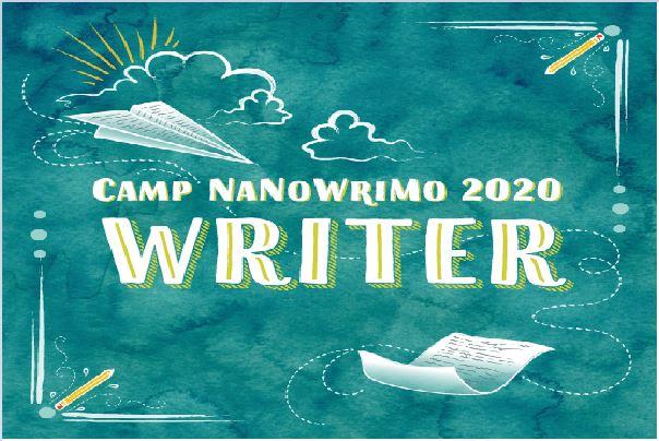 Camp NaNoWriMo in April