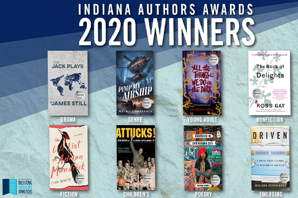 Check out the 2020 Indiana Authors Awards Winners