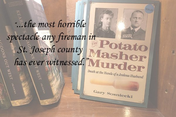 The Potato Masher Murder Author Talk