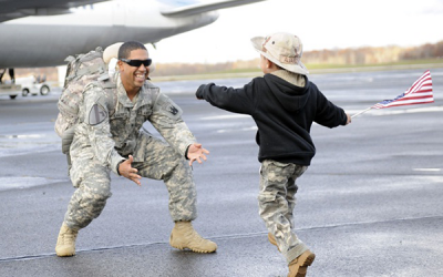 November is National Military Family Month