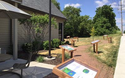 Hanna Branch and Kesling Park StoryWalks® Are Here!