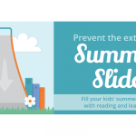 Prevent the extended summer slide. Fill your kids' summer break with reading and learning!