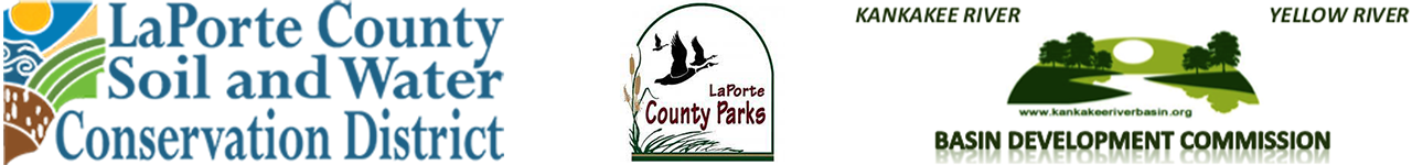 La Porte County Soil and Water District, La Porte County Parks, Kankakee River Basin and Yellow River Basin Development Commission