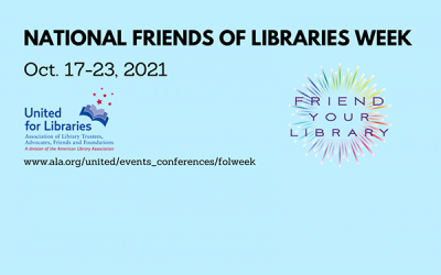Celebrating National Friends of the Library Week